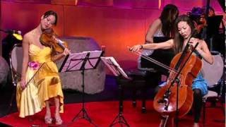 The Ahn Trio: A modern take on piano, violin, cello