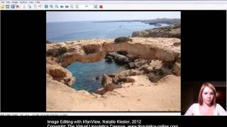 Multimedia on the Web - Image Editing with IrfanView